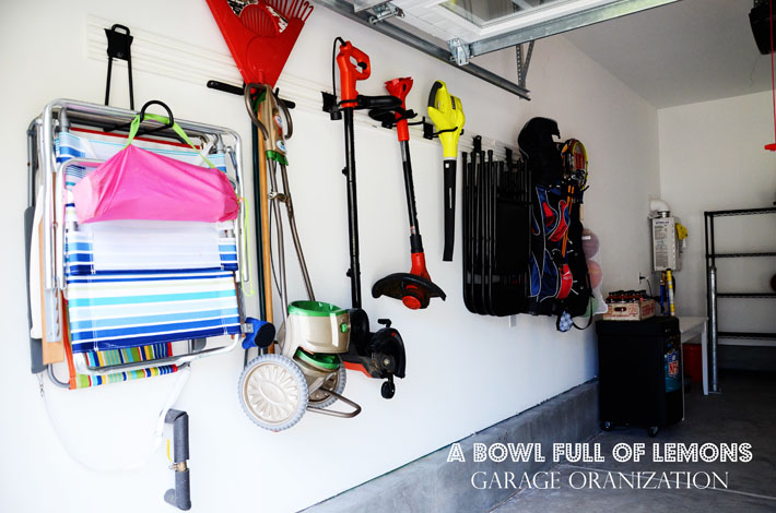 & How to organize the garage | A Bowl Full of Lemons