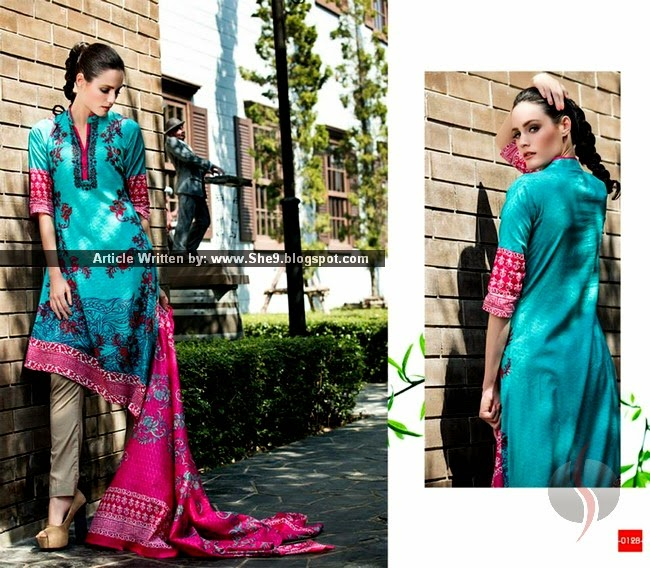 Riwaj Summer Collection 2015 by Shariq Textiles
