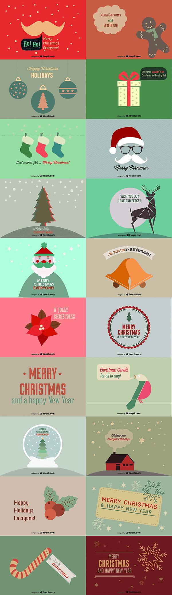 9. 20 Beautiful Christmas Cards