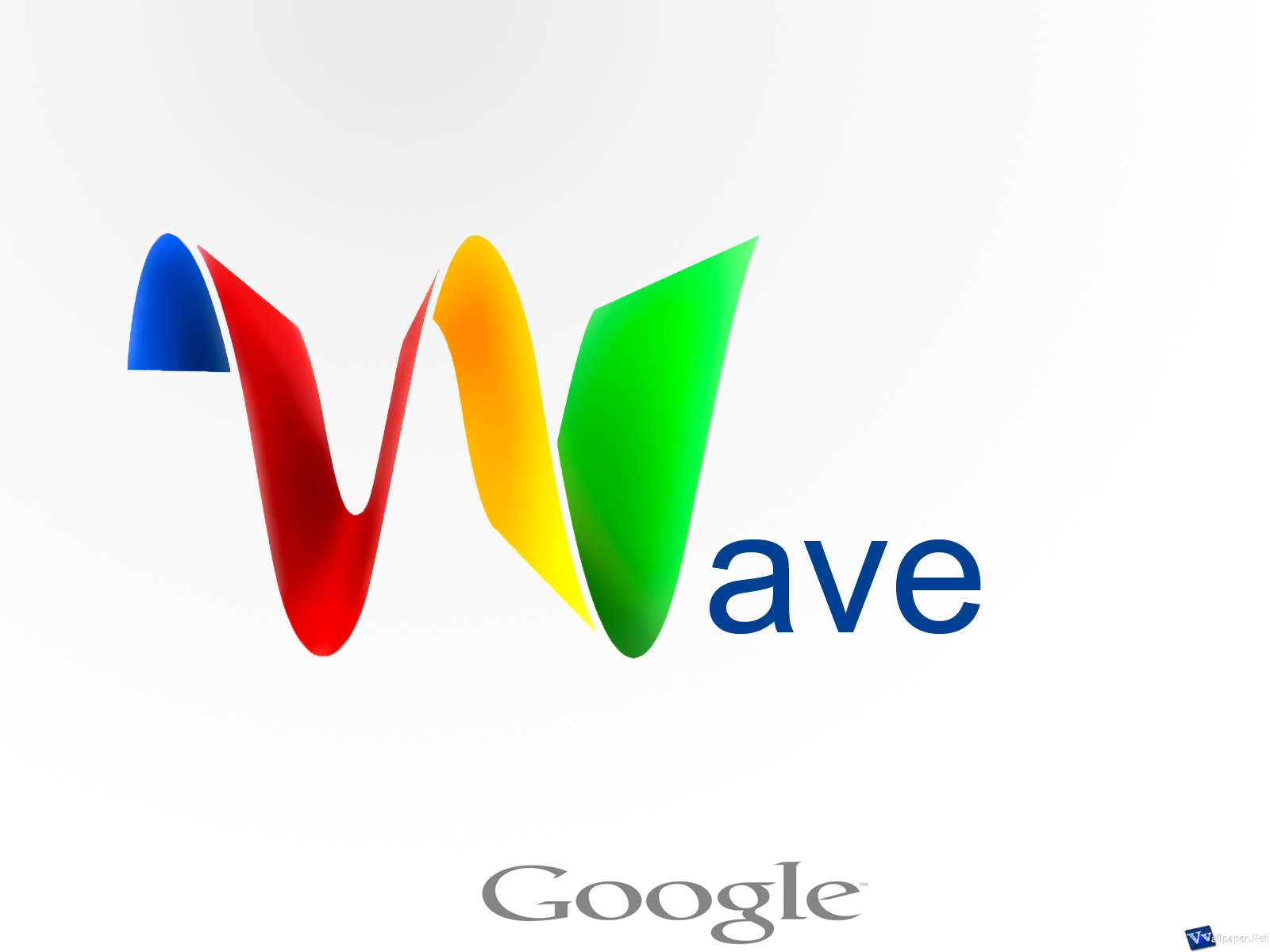 Google Wave Logo HD Background