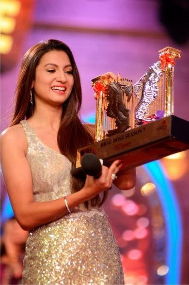 Bigg Boss-7 Winner 'Gauhar Khan' Makes A 'Record' History