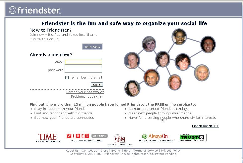 Friendster 2004