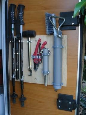le camping car passe partout astuces rangement pratique pour petits objets. Black Bedroom Furniture Sets. Home Design Ideas