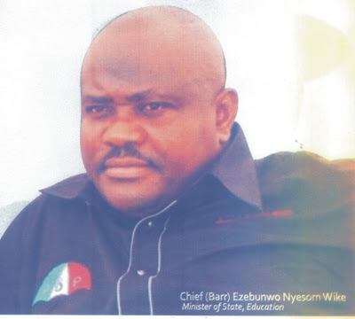 Nyesom Wike Divides Amaechi's camp in Tai, Dolles Out Dollars, Contracts chiomaandy.com