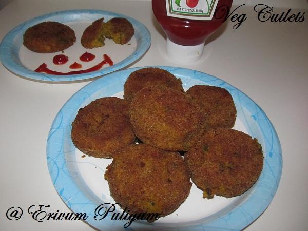 Vegetable Cutlets (Paneer ,potato & amp)