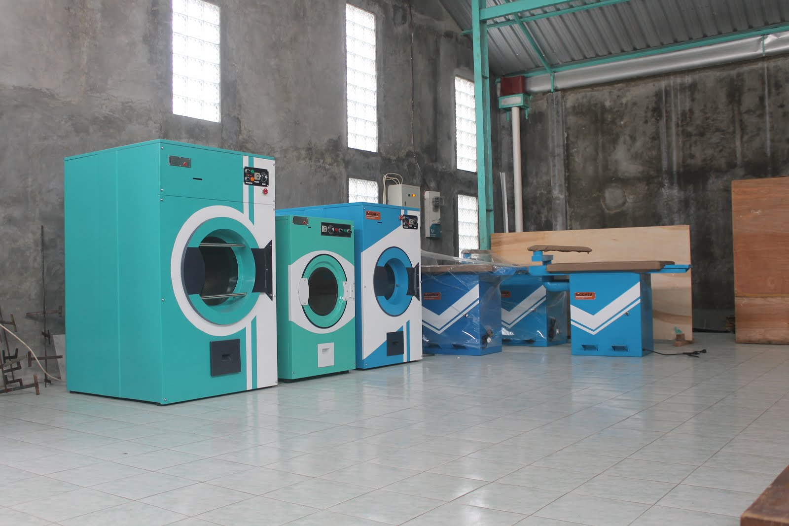 mesin laundry lokal