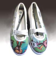 Sepatu Lukis Cewek Rp 125 000,sepatu lukis,sepatu lukis cewe