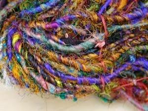 Wild Peacock fair trade sari zijde