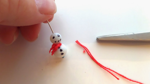 how to make snowman