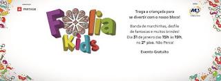 Bailinho Folia Kids em São Gonçalo