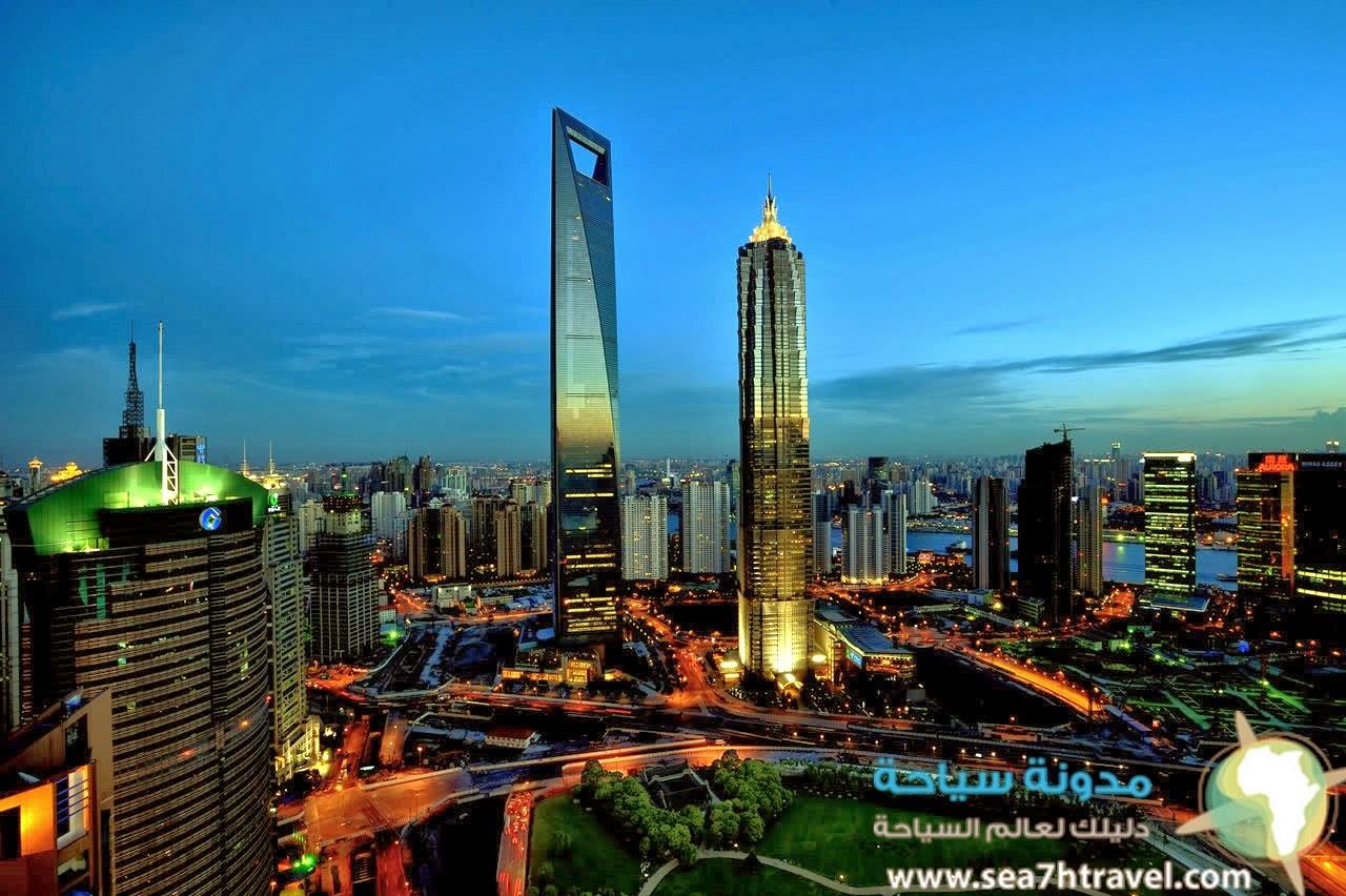 مركز مدينة شنغهاى المالى