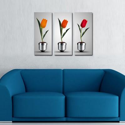 tablouri moderne cu flori