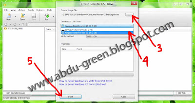 Cara Buat Bootable USB Windows