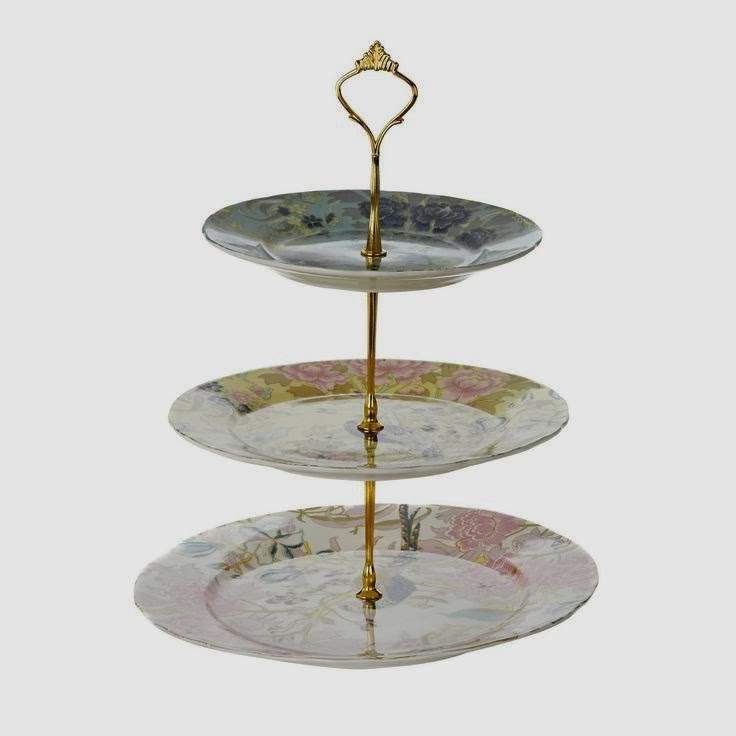 Butterfly Home Range by Matthew Williamson peacock cakestand
