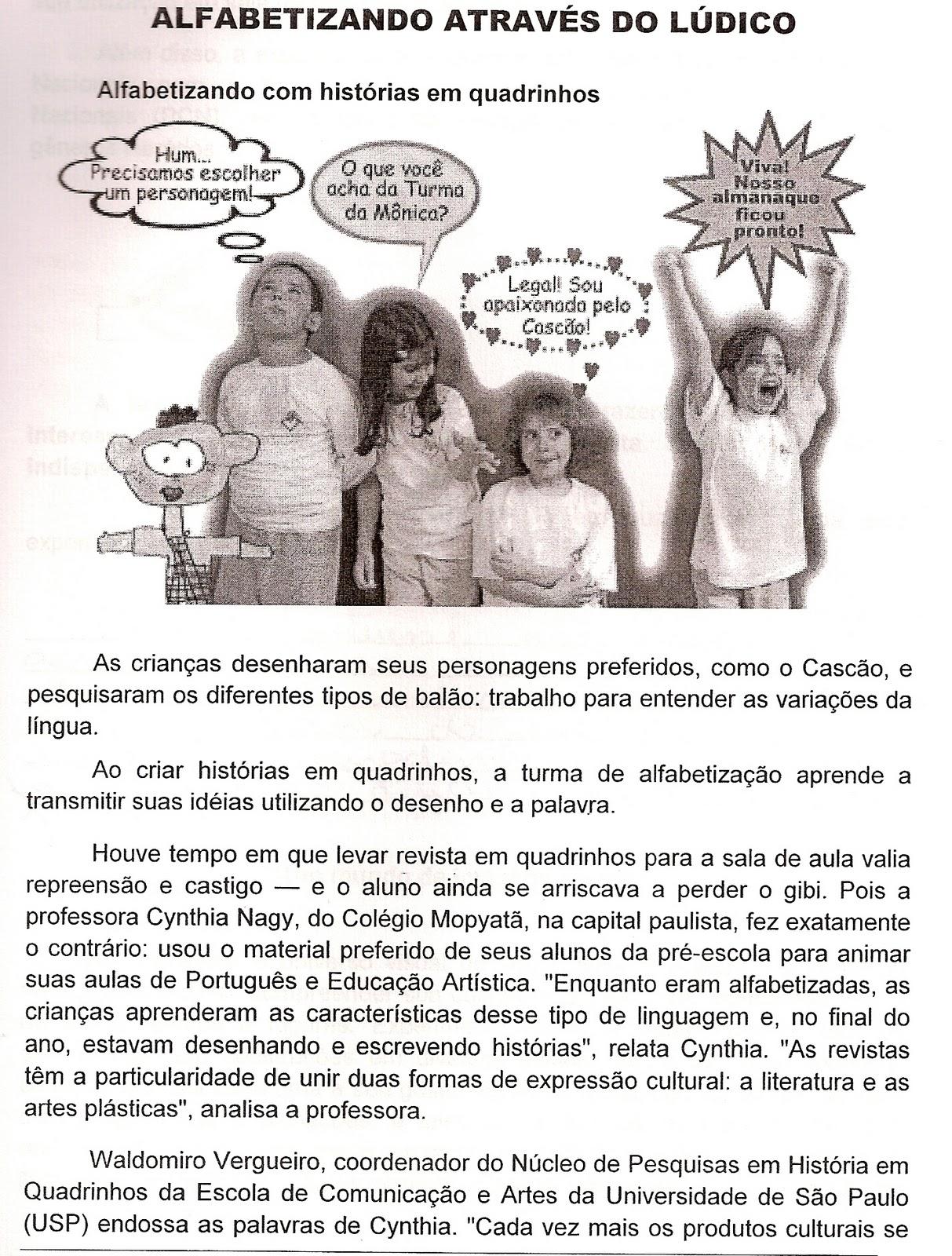 Monografia sobre alfabetizacao