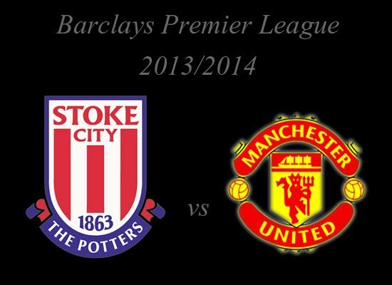Stoke City vs Manchester United  Barclays Premier League 2013
