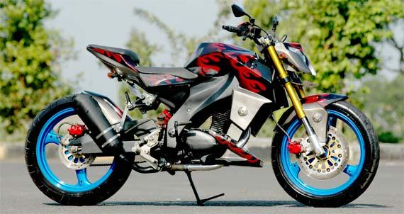 Modifikasi Honda CB100 Dari Motorplus title=