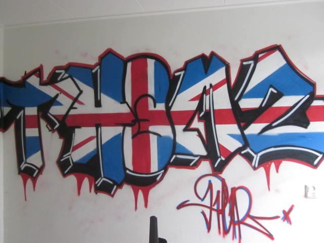 Graffiti Slaapkamer Muur : slaapkamer : Kinderkamer Kinderkamers Babykamer Graffiti Slaapkamer