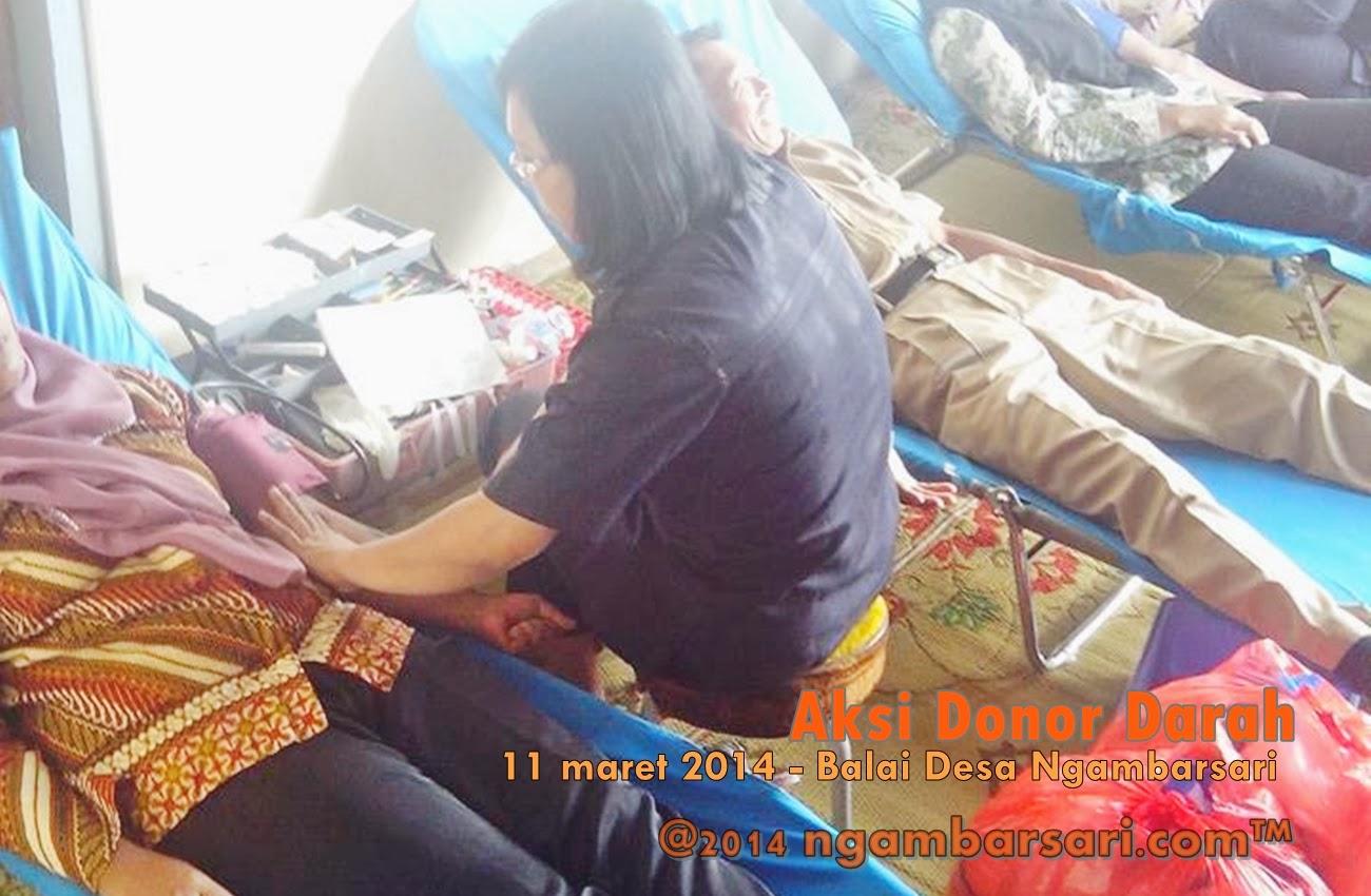 Aksi Donor Darah Ngambarsari 8