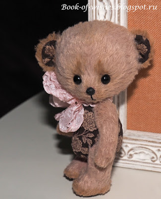handmade little Rose bear