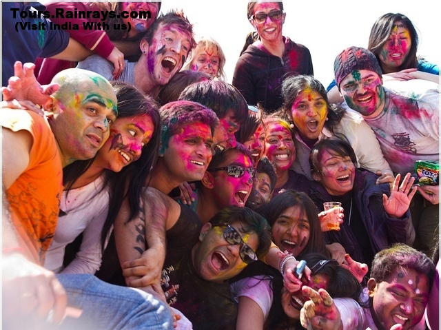 Enjoy Holi Festival India