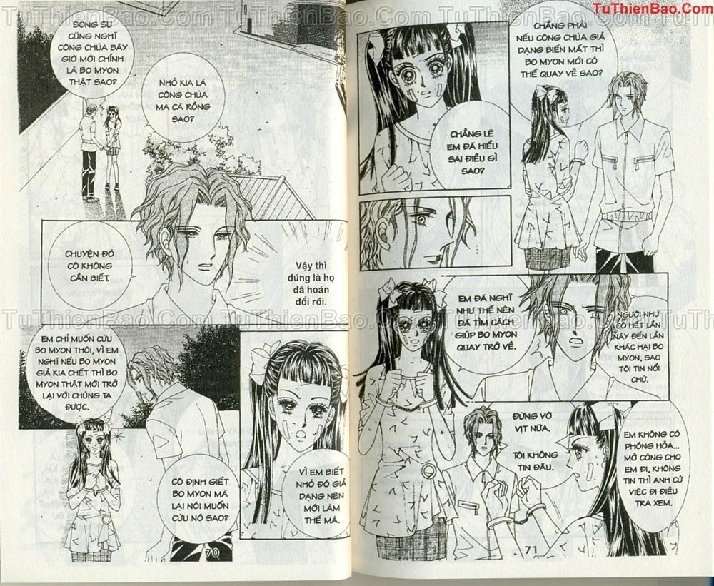 Ma cà rồng hộ mệnh Chapter 10 - Trang 33