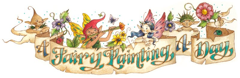 A Fairy Painting A Day