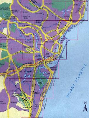 Mapa de Recife