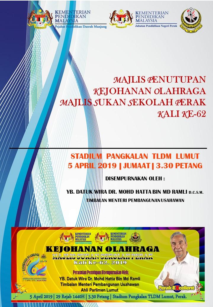 Buku Program Majlis Penutupan Rasmi