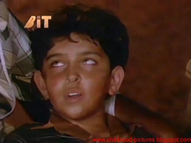 Childhood Pictures of Celebrities Actors Actress: Hritik ...