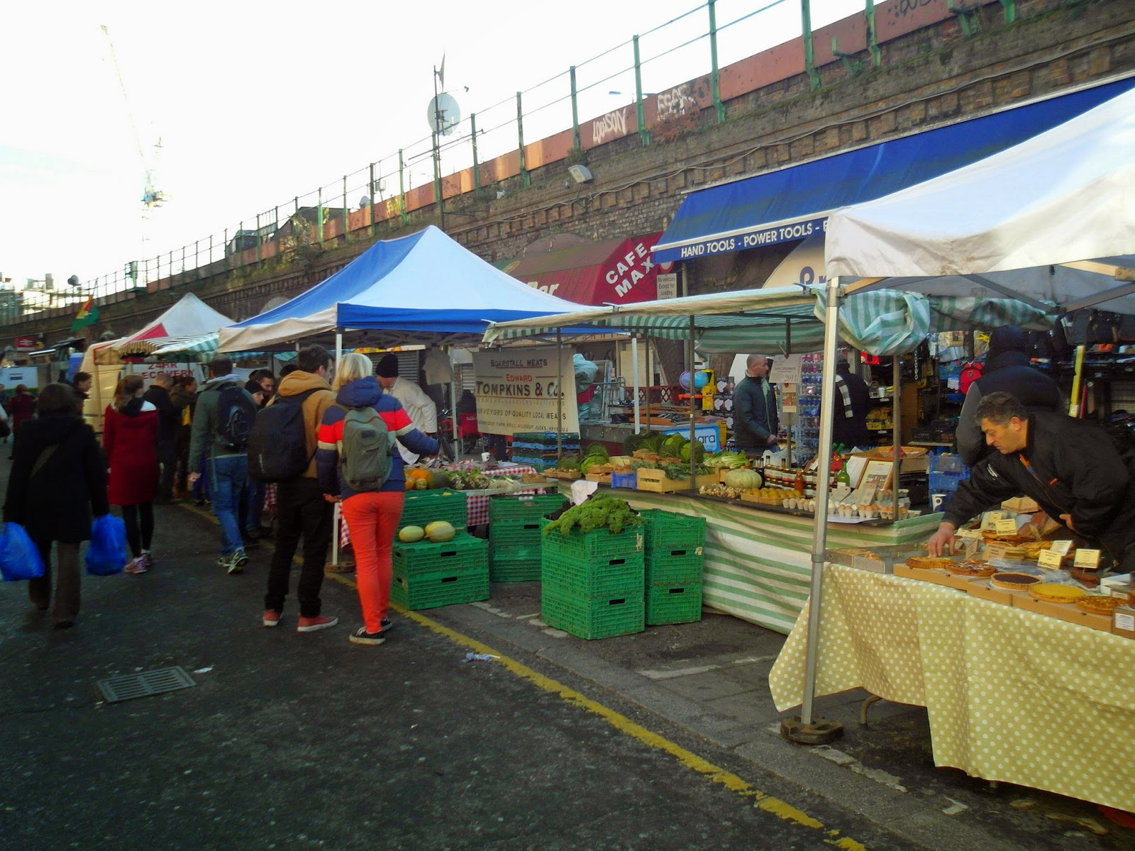 Farmers Market Began Its 2009 Season >> Tired Of London Tired Of Life Attend Brixton Farmers Market