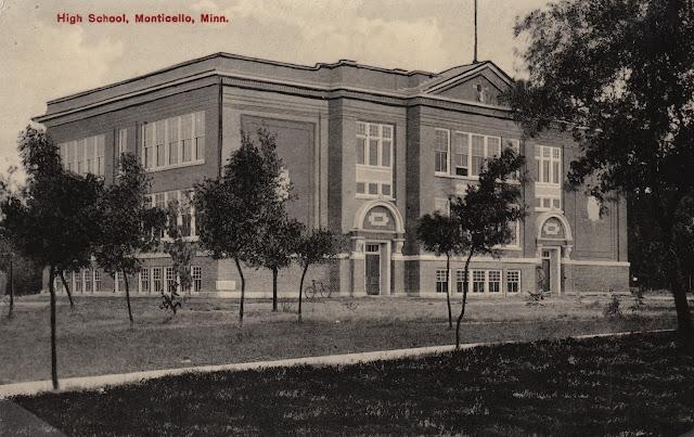 Oakwood School 3rd Street and Walnut Monticello Minnesota