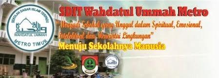 SDIT Wahdatul Ummah Metro Sekolahnya manusia