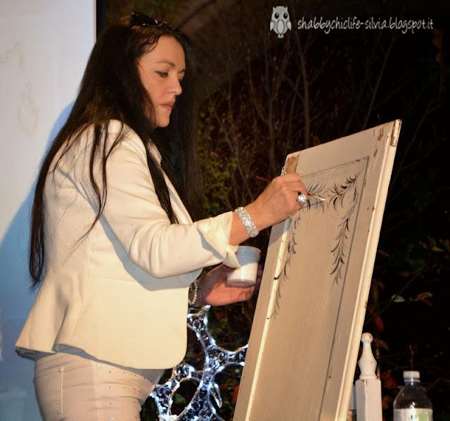Passione Shabby incontro con la maestra d'arte Marzia Sofia Salvestrini
