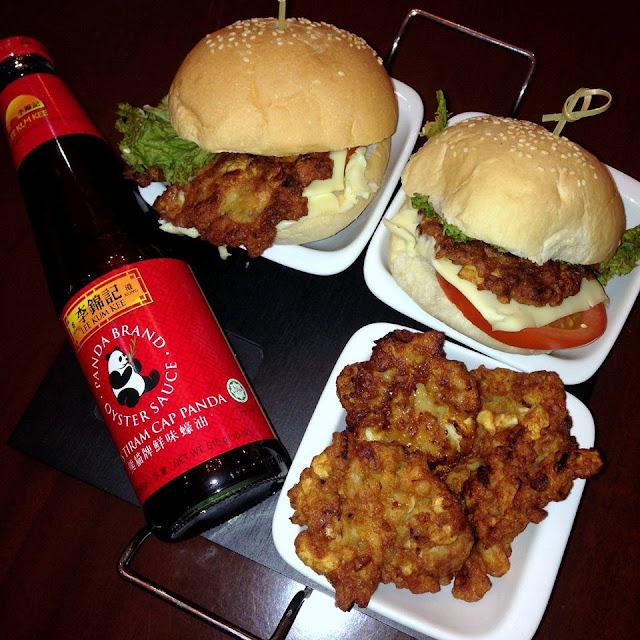 Shrimp Burger Classic