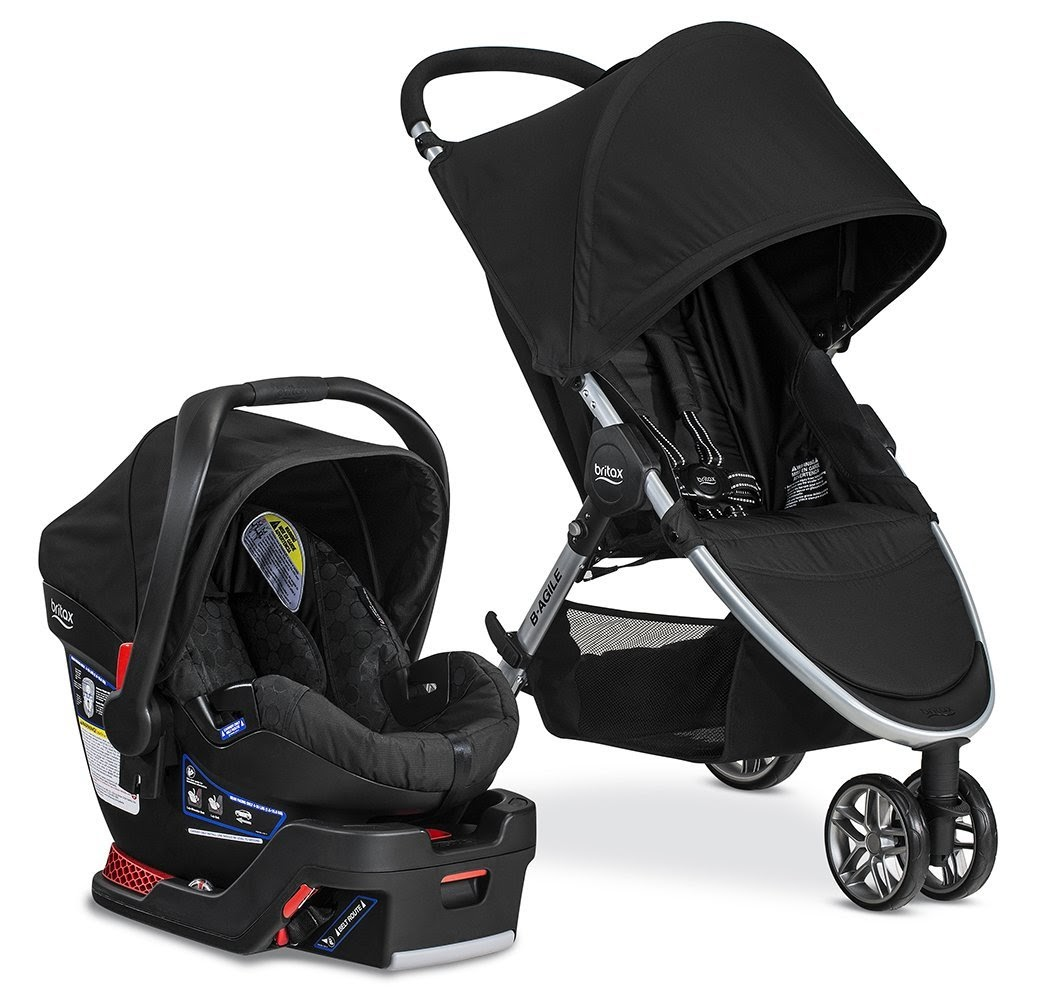 B-Agile 3 and B-Safe 35 Elite Travel System for superior Protection