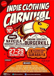 Indie Clothing Carnival Surabaya