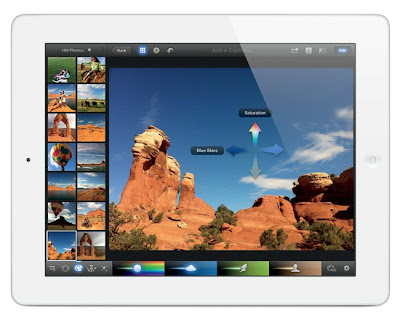 New iPad image