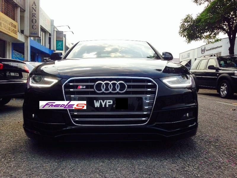 Audi A4 B8 2013 Facelift Conversion Fredles