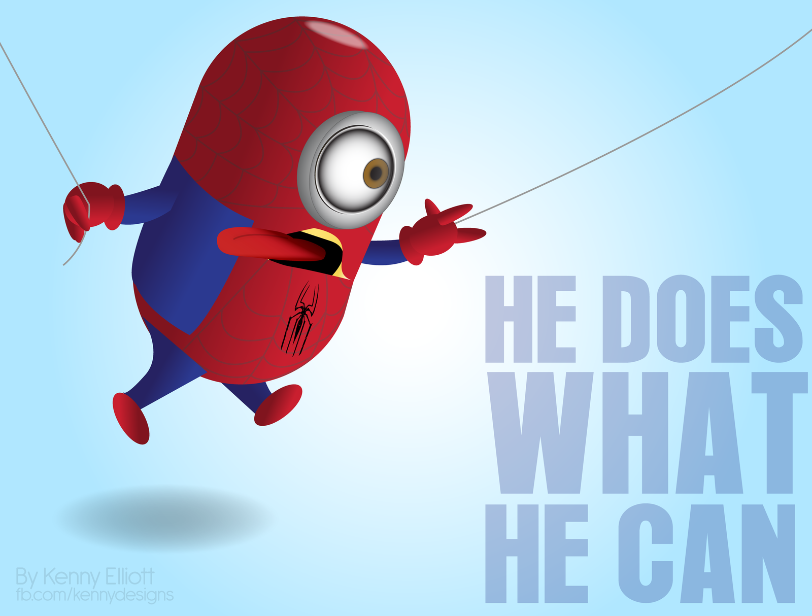 Spider Minion Wallpaper Related Posts Adorable Fan
