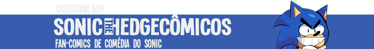 Cartoon do Nem - Histórias em Quadrinhos do Sonic