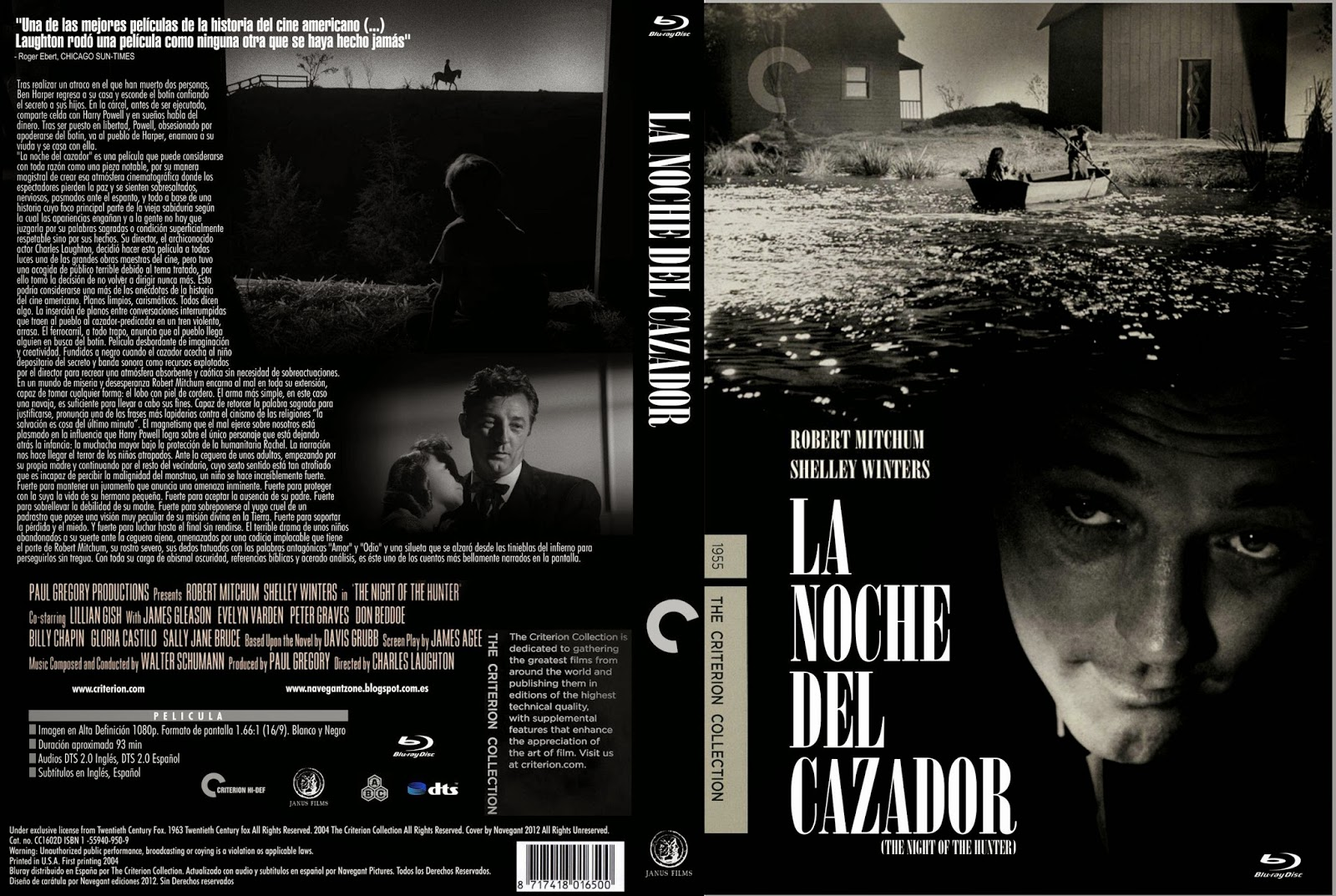 La noche del cazador (1955)(The Night of the Hunter)