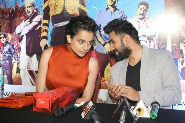 Kangana Ranaut and Vir Das