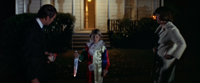 Six-year-old Michael Myers has killed his sister in HALLOWEEN (1978)