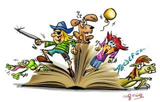 http://recursosauladeapoyo.blogspot.com.es/2013/04/actividades-para-el-dia-del-libro-de-la.html