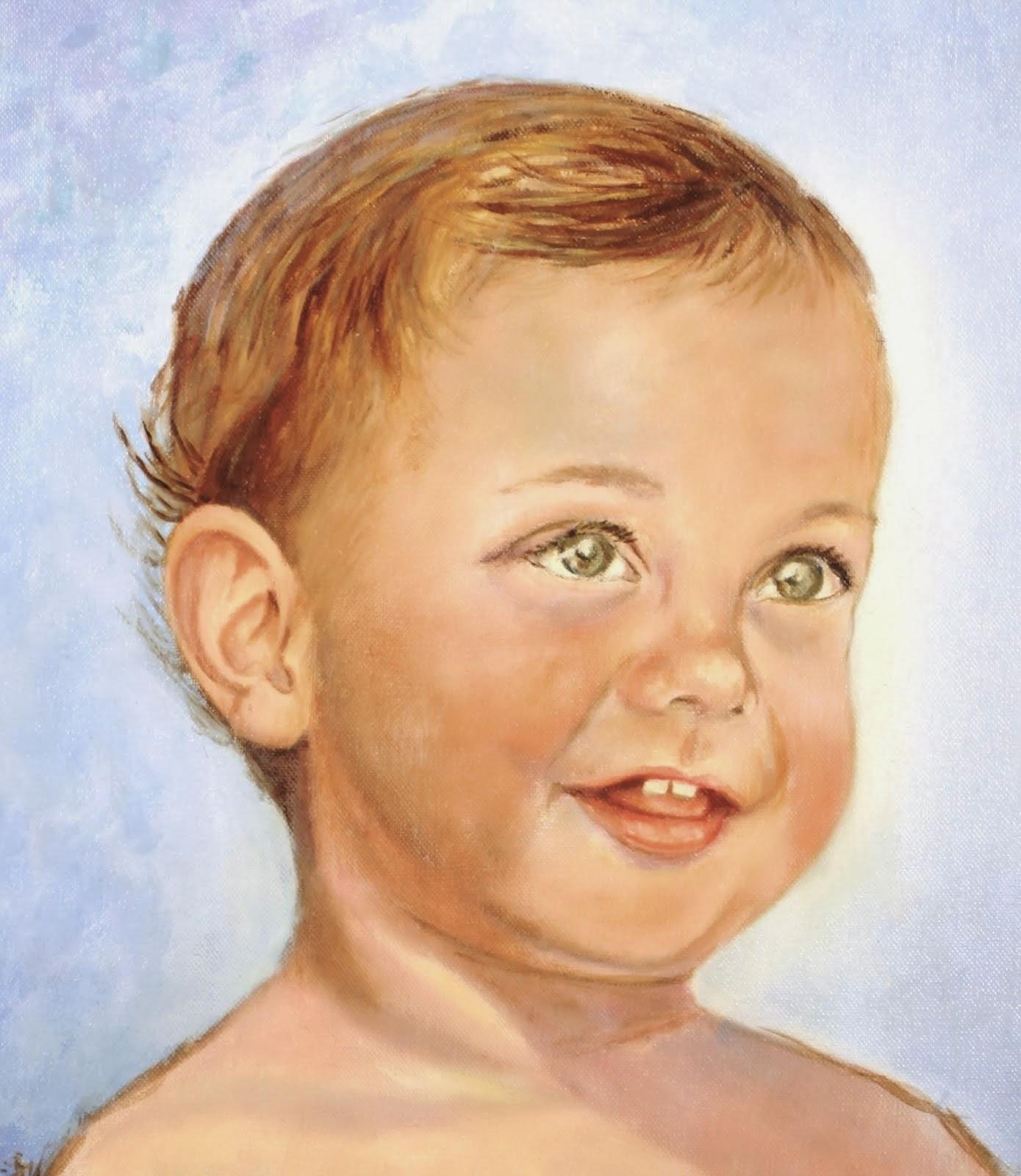 RETRATO. Mi nieto Marcelo