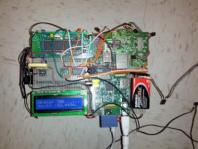 GPS based self driving vehicle