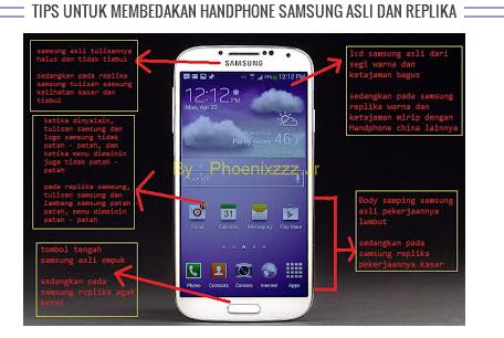 Cara Membedakan Samsung Galaxy Asli Dengan Yang Palsu