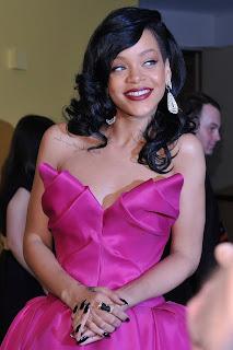 Rihanna Pink Ballgown