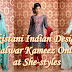 Pakistani Indian Designer Shalwar Kameez Online | Indian Party Wear Dresses 2012